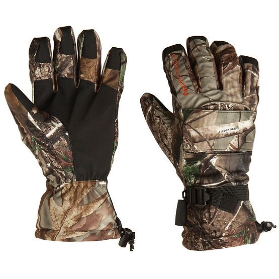 Men's Camo ArcticShield Lined Camp Gloves at Legendary Whitetails