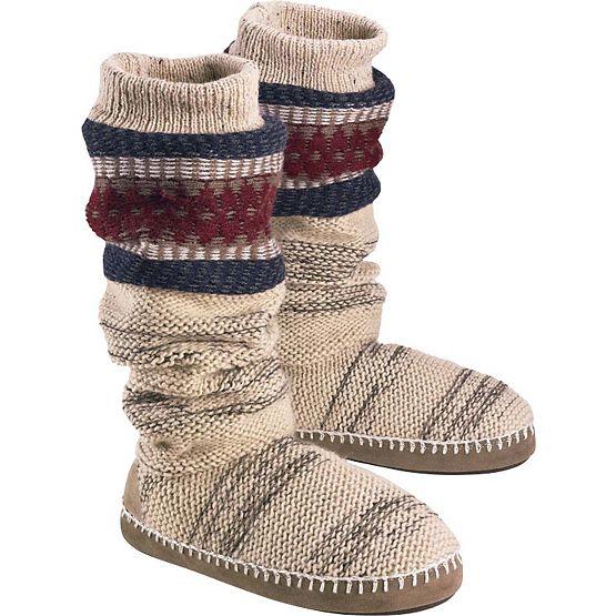 Women's Americana Knit Slipper Boot at Legendary Whitetails