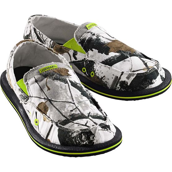 Men's Big Game Camo Whiteout Slip-On Shoe at Legendary Whitetails