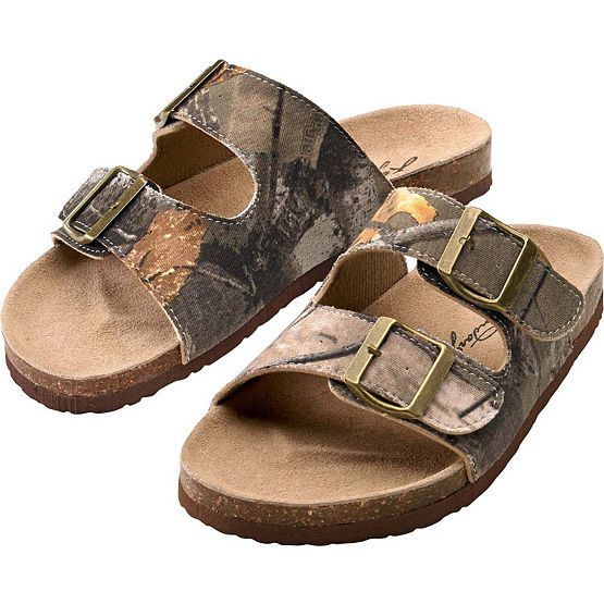 Women's Big Game Camo Boundary Sandals at Legendary Whitetails