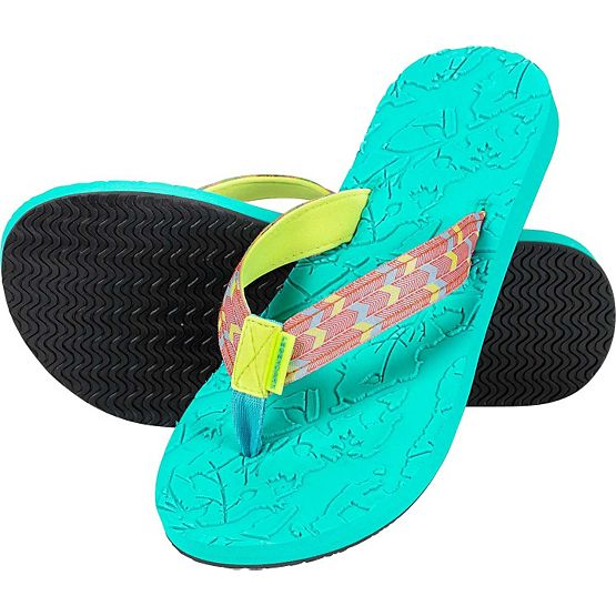 Ladies Seaside Big Game Camo Flip Flops at Legendary Whitetails