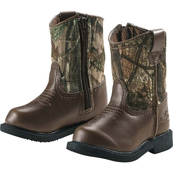 Infant & Toddler Camo Lil Dustin Cowboy Boots at Legendary Whitetails