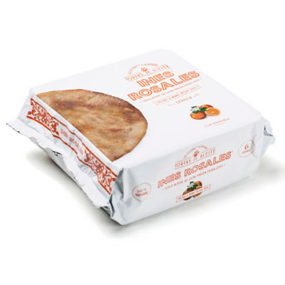 2 Packages of Seville Orange 'Tortas de Aceite' Crisps by Ines Rosales