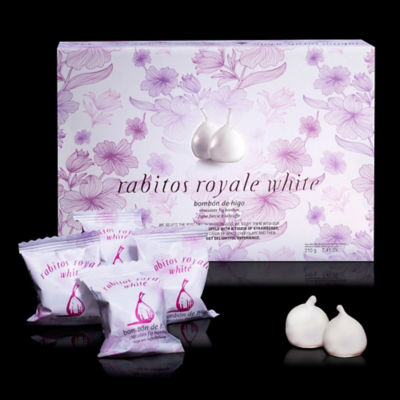 Rabitos Royale White Chocolate Fig Bonbons (12 Pieces)
