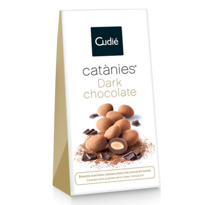 Dark Chocolate Covered Almonds by Cudié
