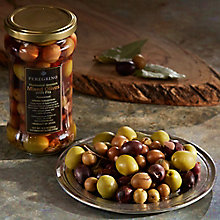 Gourmet Mixed Olives with Pits by Peregrino