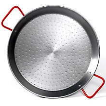 22 Inch Traditional Steel Paella Pan
