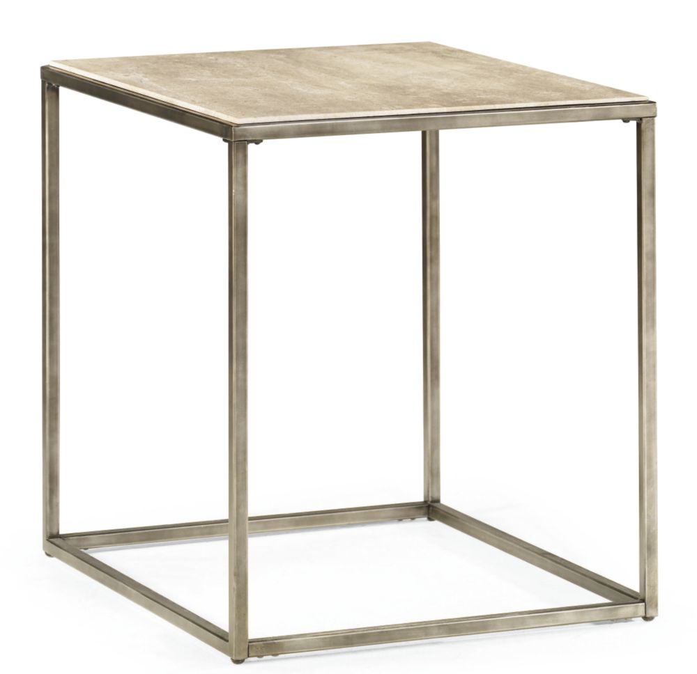 Modern basics rectangular end table for Modern accent tables