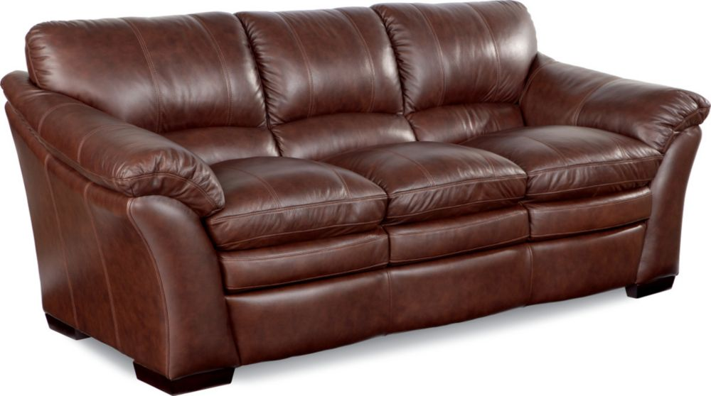 Leather lazy boy sofa leather sofas and couches la z boy Leather lazy boy sofa
