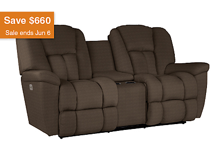 Maverick Power Recline Xrw Full Reclining Loveseat W Middle Console
