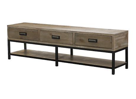 Parsons bench cocktail table for Cocktail table with 4 benches