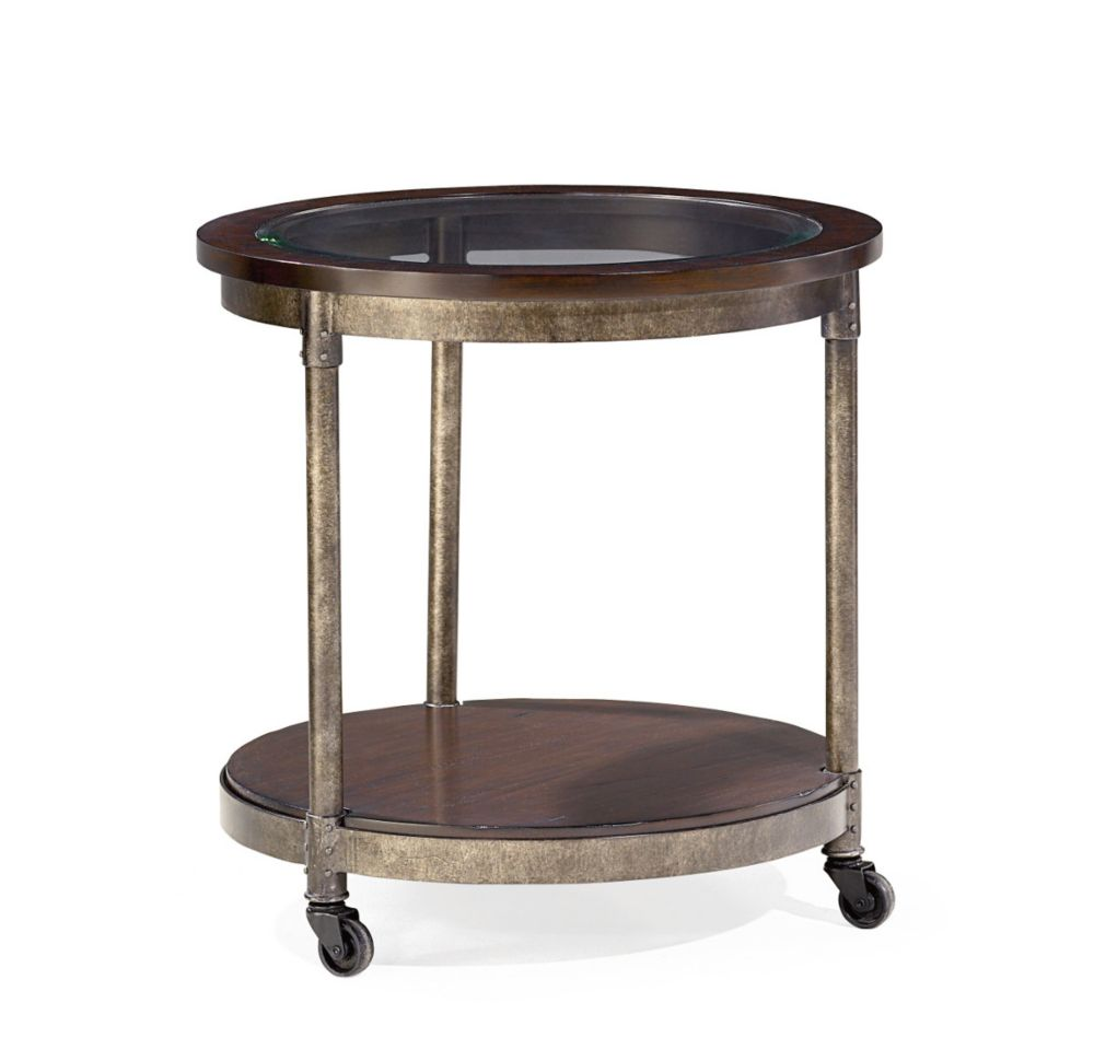 Structure round end table for Table structure