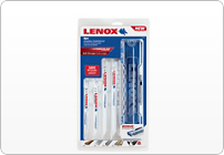 LENOX GENERAL PURPOSE RECIPROCATING SAW BLADE KIT, 9 PIECE
