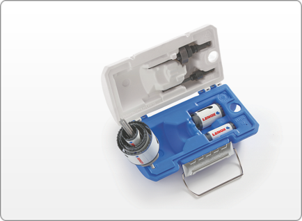 LENOX Electrician's SPEED SLOT® Hole Saw Kit, 8 Piece