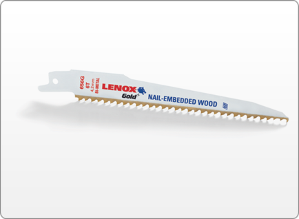 LENOX Gold® WOOD RECIPROCATING SAW BLADES