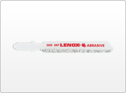 LENOX CARBIDE GRIT JIG SAW BLADES