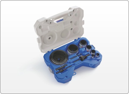 LENOX Electrician's SPEED SLOT® Hole Saw Kit, 17 Piece
