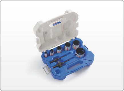 LENOX Refrigeration SPEED SLOT® Hole Saw Kit, 8 Piece