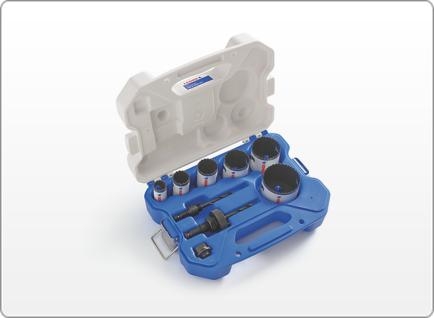 LENOX Electrician's SPEED SLOT® Hole Saw Kit, 9 Piece
