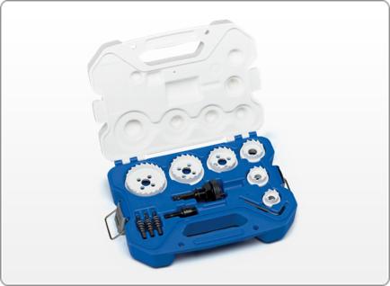 LENOX Electrician's Carbide Hole Cutter Kit, 15 Piece