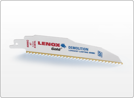 LENOX Gold® DEMOLITION RECIPROCATING SAW BLADES
