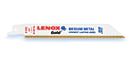 LENOX Gold® METAL RECIPROCATING SAW BLADES