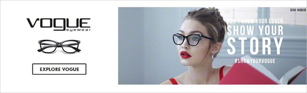 Designer Eyewear: Browse Vogue Eyeglasses & Sunglasses