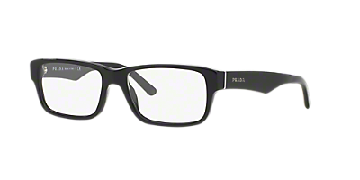 pr16mv shop prada rectangle eyeglasses at lenscrafters