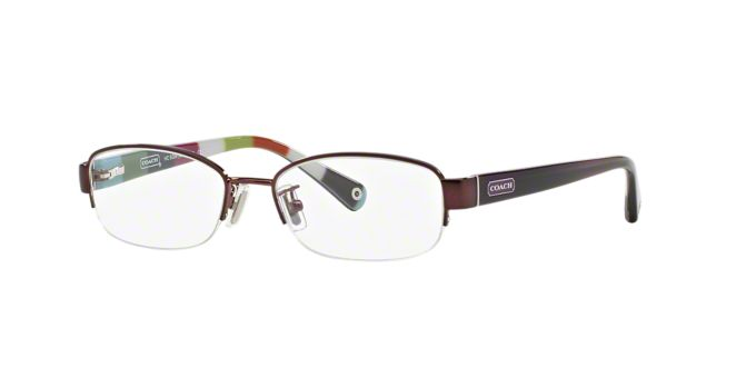 Coach Eyeglass Frames Lenscrafters : HC5004 BETTIE: Shop Coach Semi-Rimless Eyeglasses at ...