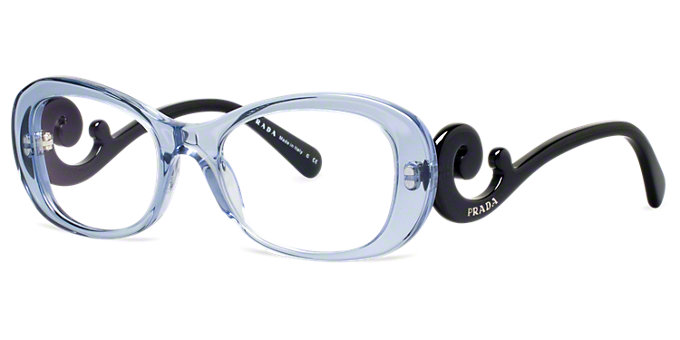 7ff12a5b23 Product PR 65RV  Shop Prada Red Burgundy Rectangle Eyeglasses at  LensCrafters