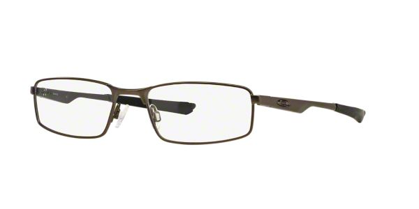 f4027e4233d OX3033 SOCKET 4.0  Shop Oakley Silver Gunmetal Grey Rectangle Eyeglasses at  LensCrafters