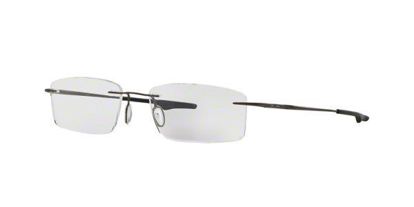 OX3122 KEEL: Shop Oakley Silver/Gunmetal/Grey Semi-Rimless ...
