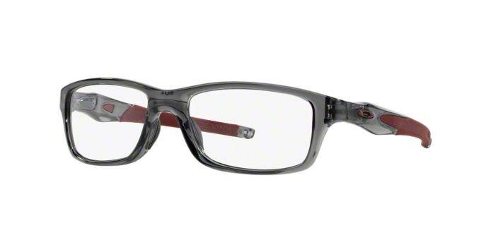 Oakley Eyeglass Frames Lenscrafters : OX8027 CROSSLINK: Shop Oakley Rectangle Eyeglasses at ...