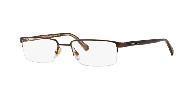 Burberry Rimless Glasses : BE 1006: Shop Burberry Semi-Rimless Eyeglasses at LensCrafters
