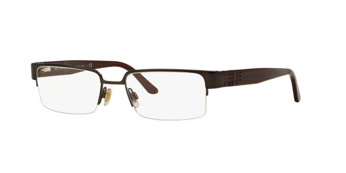 BE1110: Shop Burberry Semi-Rimless Eyeglasses at LensCrafters