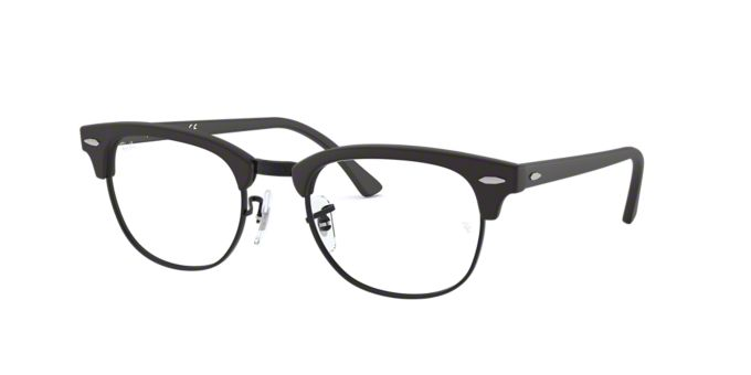 RX5154: Shop Ray-Ban Black Square Eyeglasses at LensCrafters