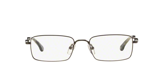 BB 465: Shop Brooks Brothers Rectangle Eyeglasses at ...