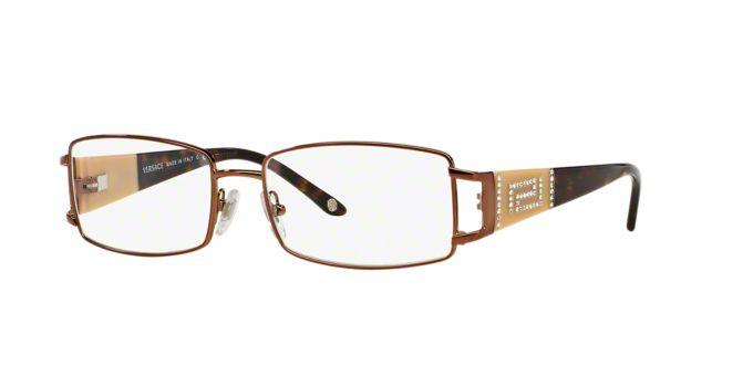 VE 1163B: Shop Versace Rectangle Eyeglasses at LensCrafters