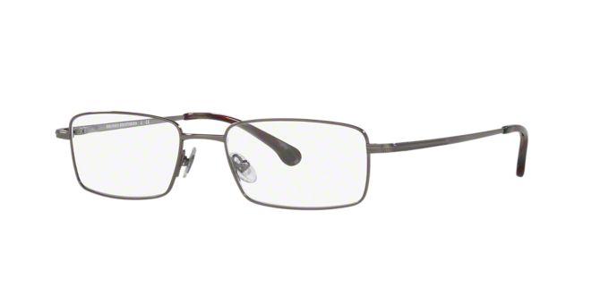 Titanium Eyeglass Frames Lenscrafters : BB486T: Shop Brooks Brothers Rectangle Eyeglasses at ...