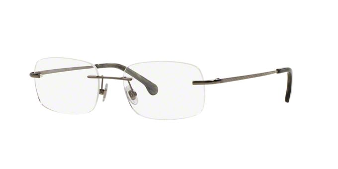 Titanium Eyeglass Frames Lenscrafters : BB495T: Shop Brooks Brothers Rimless Eyeglasses at ...