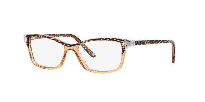 Eyeglasses Frames Lenscrafters : VE3156: Shop Versace Square Eyeglasses at LensCrafters