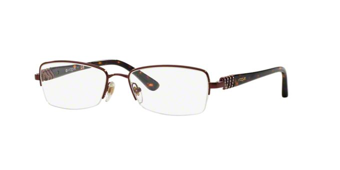 VO3813B: Shop Vogue Rectangle Eyeglasses at LensCrafters