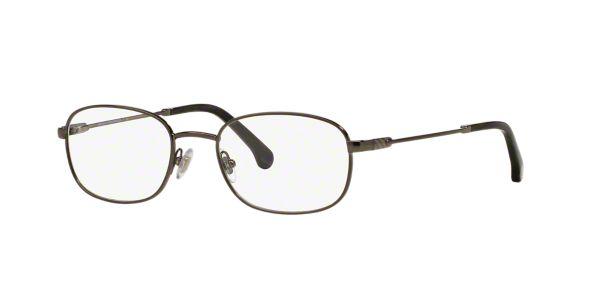 Brooks Brothers Eyeglass Frames Lenscrafters : BB1014: Shop Brooks Brothers Silver/Gunmetal/Grey ...