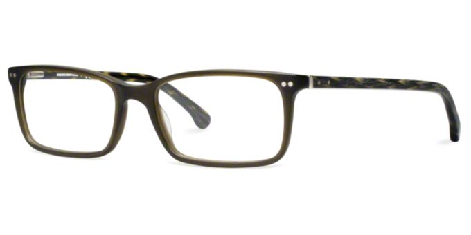 BB2011: Shop Brooks Brothers Rectangle Eyeglasses at ...