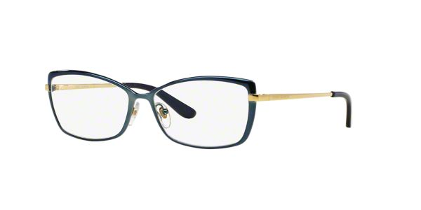 Tory Burch Eyeglass Frames Lenscrafters : TY1035: Shop Tory Burch Blue Rectangle Eyeglasses at ...