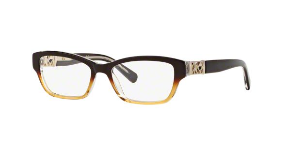Tory Burch Eyeglass Frames Lenscrafters : TY2039: Shop Tory Burch Brown/Tan Rectangle Eyeglasses at ...