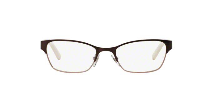 Tory Burch Eyeglass Frames Lenscrafters : TY1040: Shop Tory Burch Silver/Gunmetal/Grey Rectangle ...