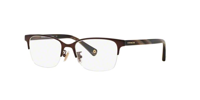 HC5047 EVIE: Shop Coach Semi-Rimless Eyeglasses at ...