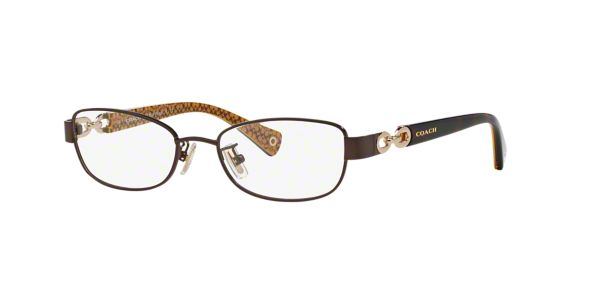 Coach Eyeglass Frames Lenscrafters : HC5054: Shop Coach Brown/Tan Butterfly Eyeglasses at ...