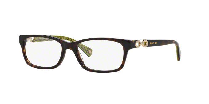 Designer Eyeglass Frames Coach : HC6052: Shop Coach Rectangle Eyeglasses at LensCrafters